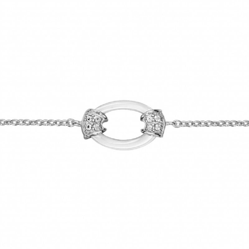 bracelet femme argent ceramique